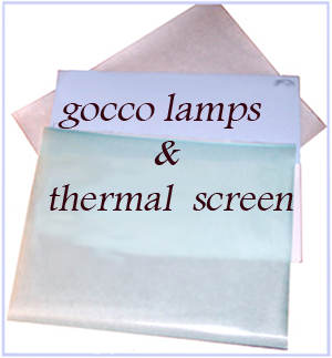 Gocco screens and Lamps